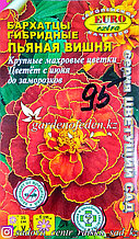 "Семена бархатцев гибридных - Euro Extra ""Пьяная вишня"""