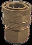 Латунный быстроразъемный соединитель, фото 3