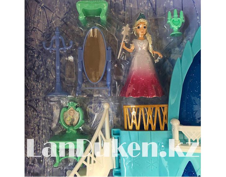 Замок для девочек с музыкальными и световыми эффектами и кукла Эльза 29008 (Холодное сердце) - фото 2