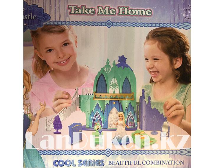 Замок для девочек с музыкальными и световыми эффектами и кукла Эльза 29008 (Холодное сердце) - фото 3