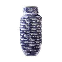 Керамическая ваза «Рыбы» 37 см