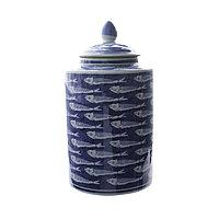 Керамическая ваза «Рыбы» 34,5 см