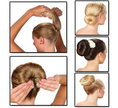 Валик-заколка для волос Hot Buns(хот банс), фото 2