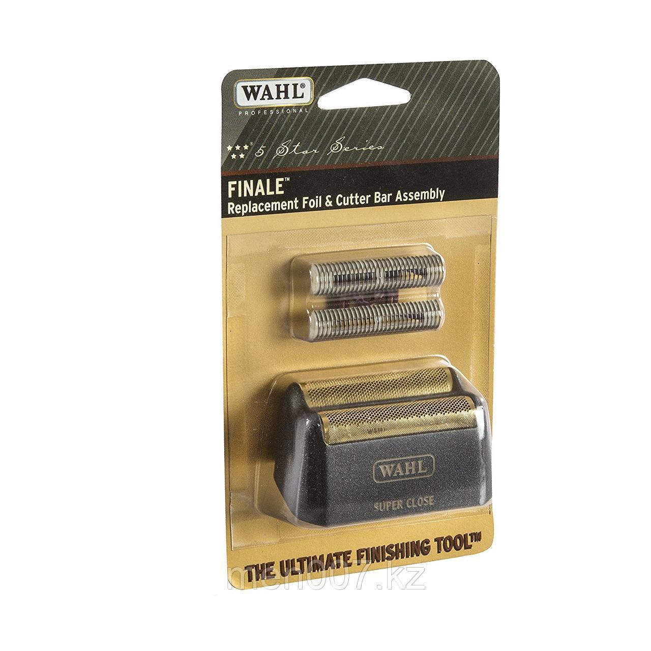 Ножи и сеточка для шейвера финале Wahl Shaver Finale 8164 Foil Gold цвет черный либо бургунди