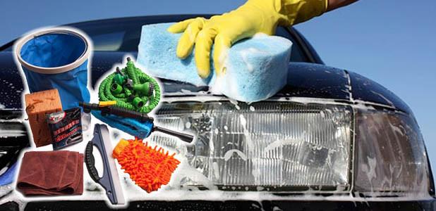 Набор для мытья автомобиля Magic Hose [8 предметов]