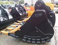 Ковш скальный 1,65 куба для экскаватора JCB JS330