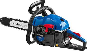 Пила цепная бензиновая, ЗУБР Профессионал ПБЦ-450 40П, 45 см3 (1.8 кВт), шина 400 мм, бензопила, фото 3