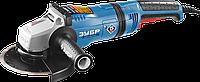 Болгарка, угловая шлифмашина ЗУБР, 180 мм. 2100 Вт, серия Профессионал