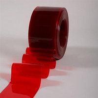 Пленка для ПВХ завес защита от УФ излучения красный цвет 300х2