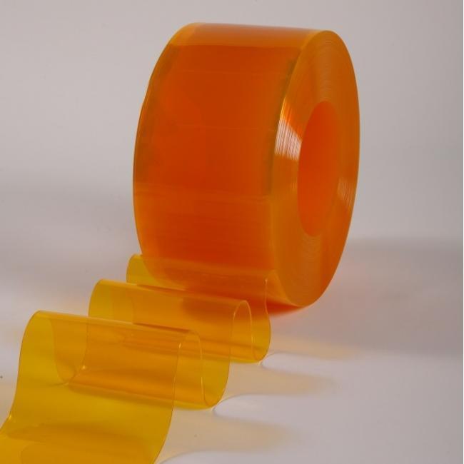Пленка для ПВХ завес оранжевая 200х2 мм