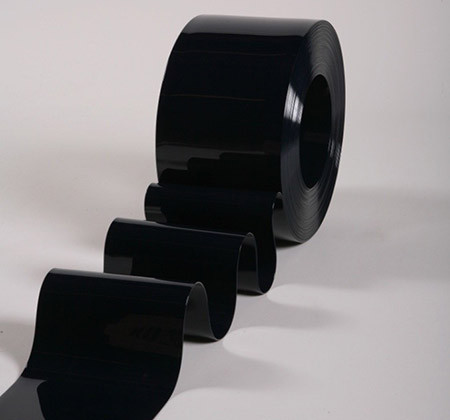 Пленка для ПВХ завес черная 400х4 мм