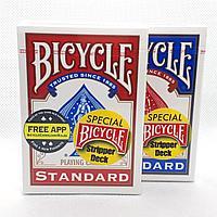 Карты для фокусов Bicycle Stripper Deck Конусная колода