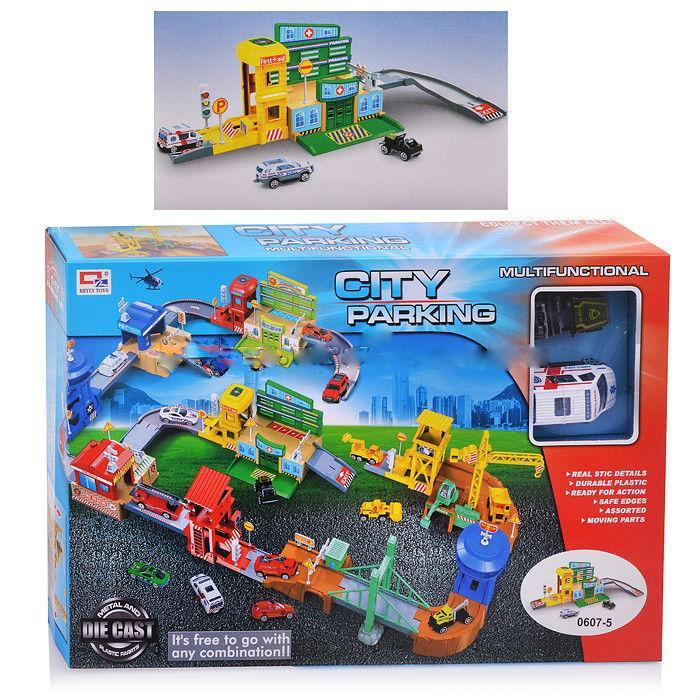 Парковка в коробке 0607-5