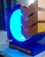 Изготовление объемного логотипа