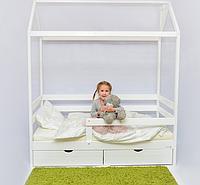 Детская кроватка дом Incanto DreamHome (цвет белая)