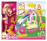 Кукла Барби Тренирует щенков Barbie, фото 1