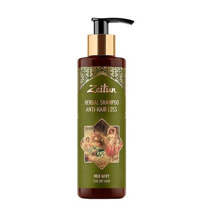 Фито-шампунь против выпадения волос с молочной сывороткой Zeitun (200 мл, Иордания), фото 2