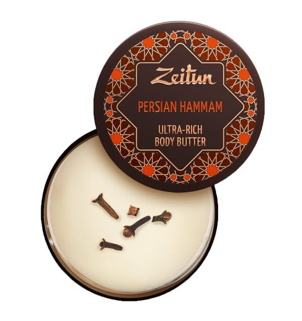 """Крем-масло для тела """"Персидский хаммам"""", детокс и обновление Zeitun (200 мл, Иордания)"""