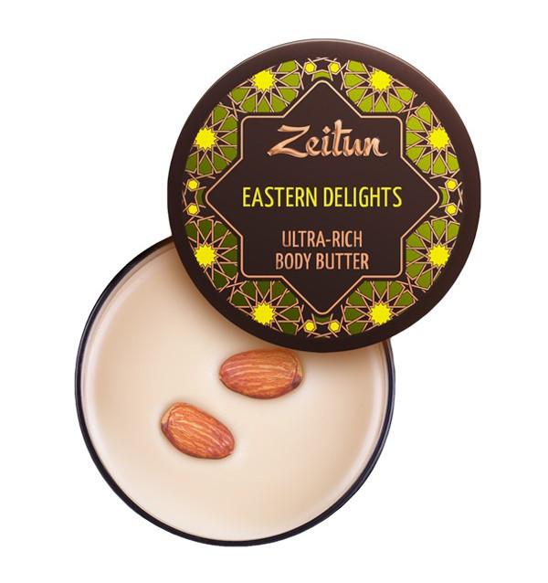 """Питательное крем-масло для тела """"Восточные сладости"""" Zeitun (200 мл, Иордания)"""