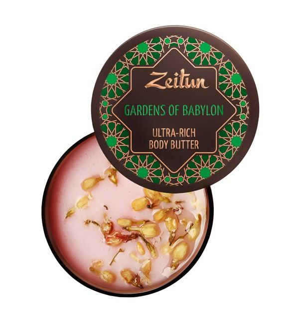 """Увлажняющее крем-масло для тела """"Сады Семирамиды"""" Zeitun (200 мл, Иордания)"""