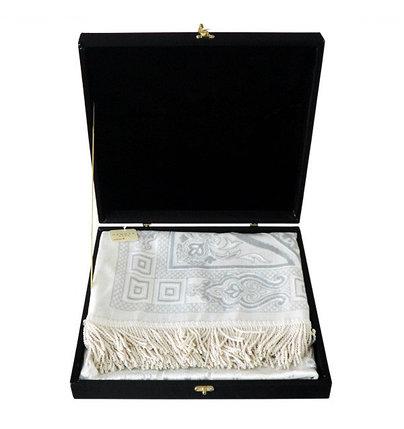 Подарочный жайнамаз в черной бархатной шкатулке, фото 2