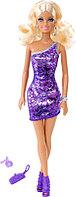 Кукла Барби Сияние моды в фиолетовом платье Barbie, фото 1