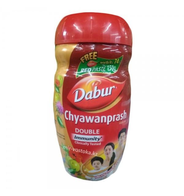 Чаванпраш Дабур двойной иммунитет (Dabur Chyawanprash Double Immunity,1000г)
