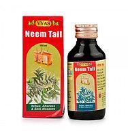 Аюрведическое масло Ним от кожных заболеваний (Neem Tail Vyas 60ml)