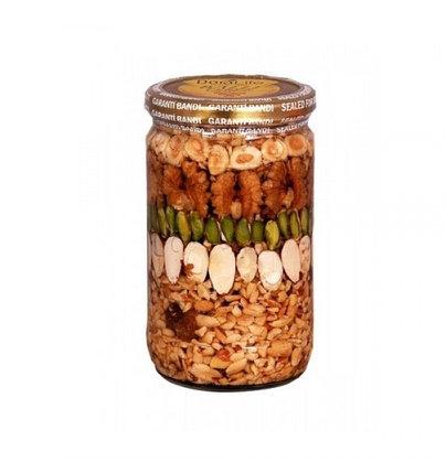 Golden - мед с орехами (геркулес), фото 2