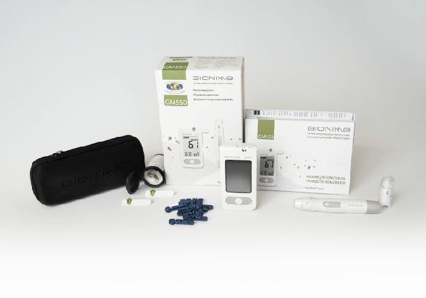 GM550 Rightest Blood Glucose Monitoring System/Система контроля уровня глюкозы в крови Bionime Right, фото 2