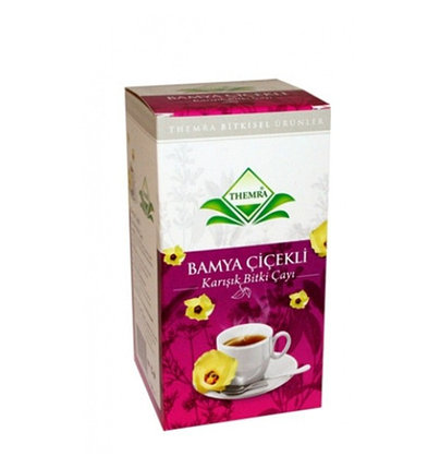 Чай из цветков Бамии против диабета Bamya Cicekli, фото 2