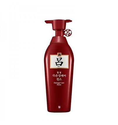 Кондиционер для поврежденных волос Ryo Damage Care Rinse (400 мл), фото 2