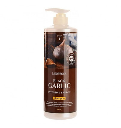 Шампунь для волос Deoproce Black Garlic Intensive Energy Shampoo (1000 мл), фото 2