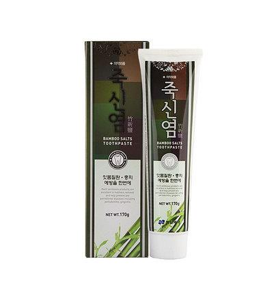 Зубная паста с экстрактом бамбуковой соли Hanil Bamboo Salts Toothpaste (170 г), фото 2