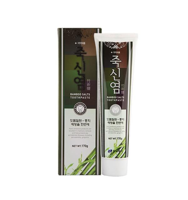 Зубная паста с экстрактом бамбуковой соли Hanil Bamboo Salts Toothpaste (170 г)