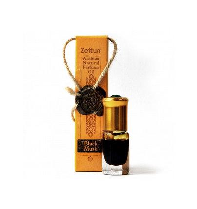 Парфюмерное масло «Чёрный мускус» №6 Zeitun (ролл-он), фото 2