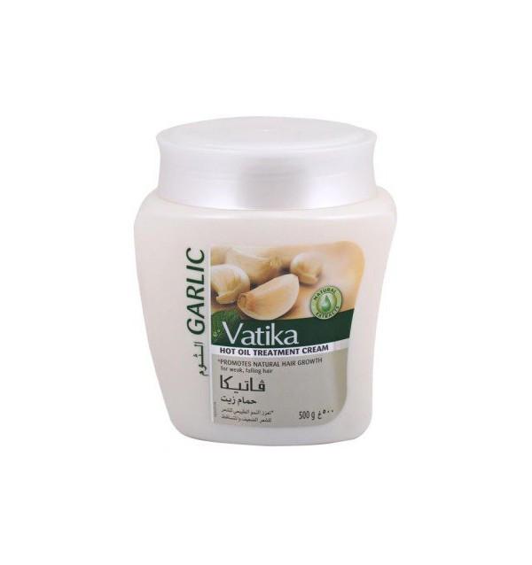 Маска для активного роста волос Vatika Garlic Hot Oil Treatment Cream