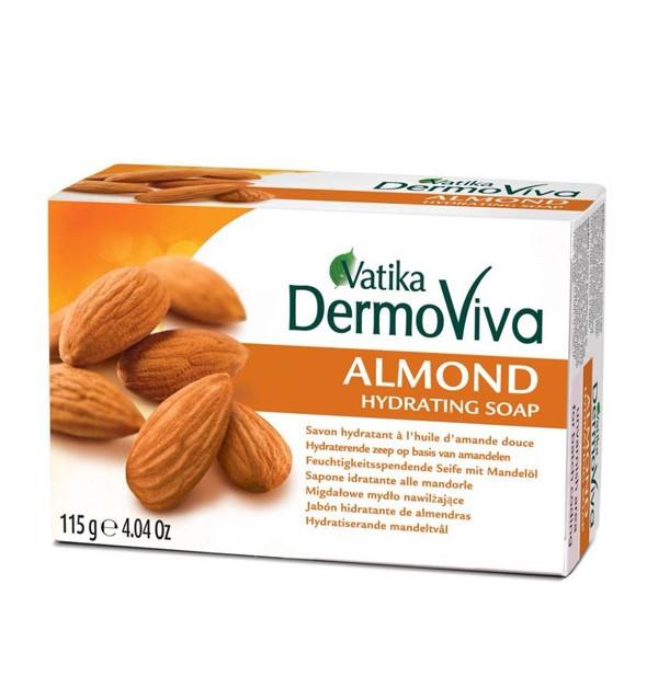 Увлажняющее мыло Dabur Vatika DermoViva Almond
