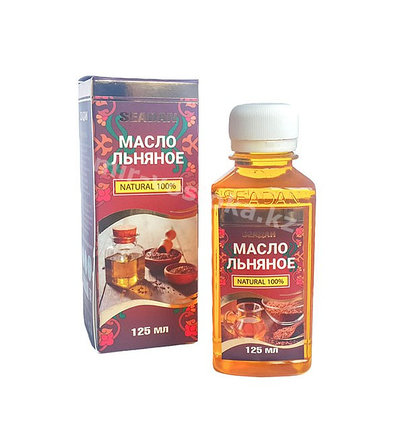 Льняное масло Seadan 125 мл, фото 2