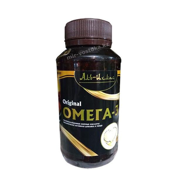 Рыбий жир Омега-3 в капсулах для взрослых Аль-Ихлас
