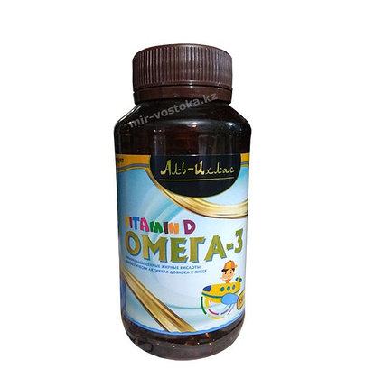Рыбий жир Омега-3 для детей в капсулах  Аль-Ихляс, фото 2