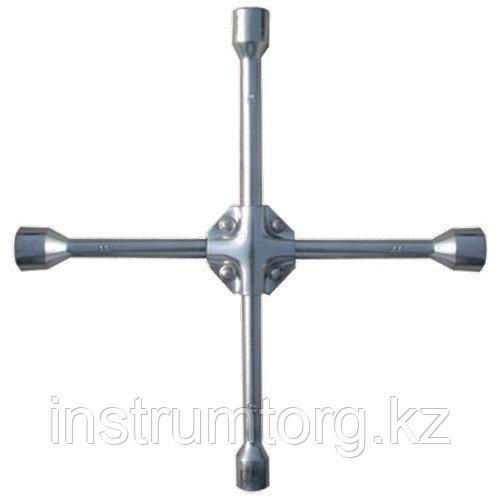 Ключ-крест баллонный, 17 х 19 х 21 х 22 мм, усиленный, толщина 16 мм// Matrix