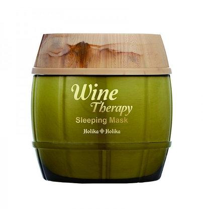 Антивозрастная маска на основе экстракта белого вина Holika Holika Wine Therapy Sleeping Mask White Wine (120 мл), фото 2