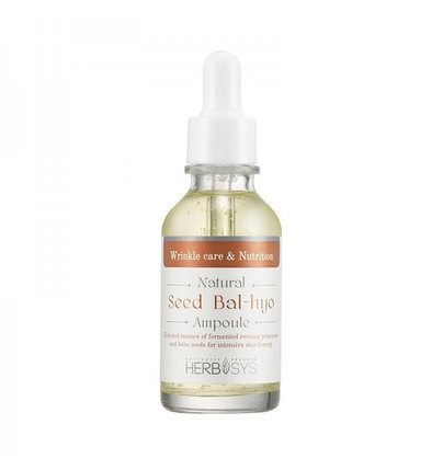Антивозрастная сыворотка для лица Mizon Natural Seed Bal-Hyo Ampoule (30 мл), фото 2