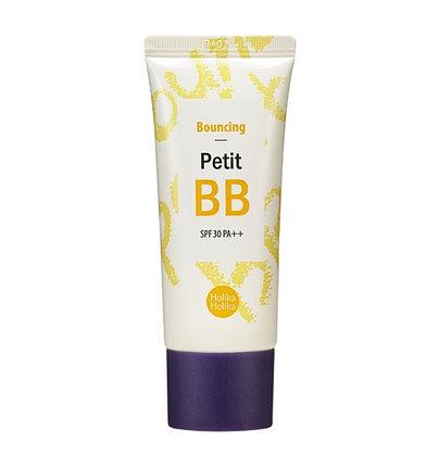 Антивозрастной ББ крем для лица Holika Holika Bouncing Petit BB Cream SPF30/PA++ (30 мл), фото 2