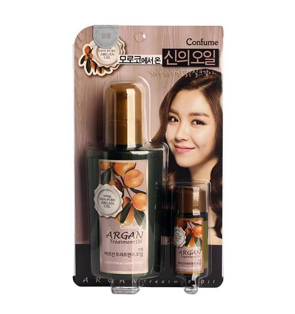 Аргановое масло для волос и тела Welcos Confume Argan Treatment Oil (120 + 25 мл)