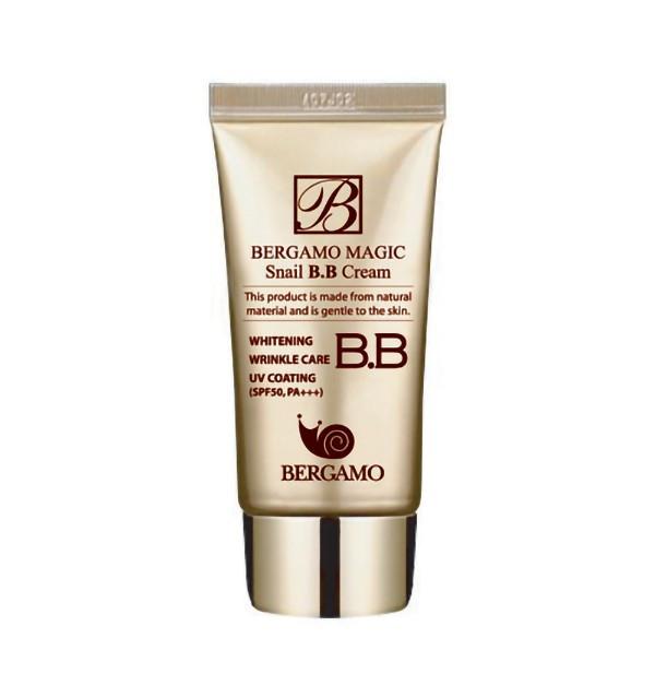 ББ крем с муцином улитки Bergamo Magic Snail BB Cream SPF50+/PA+++ (50 мл)