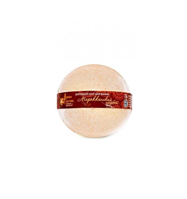 """Бурлящий шар для ванны """"Марокканский щербет"""""""