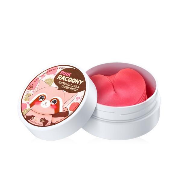 Гидрогелевые патчи для Secret Key Pink Racoony Hydro-Gel Eye & Cheek Patch (1.1 гр х 60 шт)