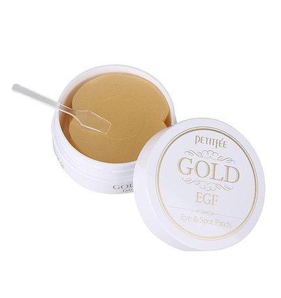 Гидрогелевые патчи с EGF и золотом Petitfee Gold & EGF Eye & Spot Patch (66 г), фото 2